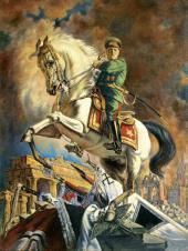 В.Н. ЯКОВЛЕВ. ПОРТРЕТ Г.К. ЖУКОВА. 1946