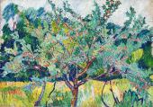 Фруктовый сад. 1908–1909