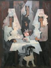 Осенний вечер (Испанки). Между 1922 и 1928