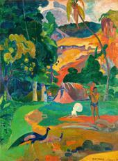 П. Гоген Пейзаж с павлинами. 1892