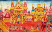 Эскиз декорации 3-го акта оперы-балета Н.А. Римского-Корсакова «Золотой петушок»
