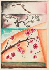 Н.С. Гончарова. Ветки цветущей яблони