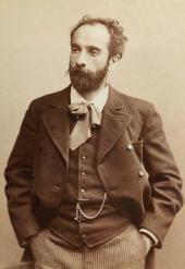 И.И. Левитан. Фотография. Начало 1890-х