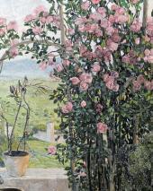 Умбрийская долина. 1910-е. Фрагмент