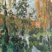 Пейзаж. Па вловск. 1911
