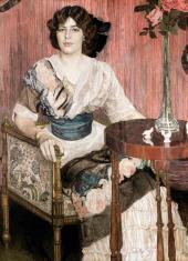 Портрет В.И. Кузы (?). 1900-е