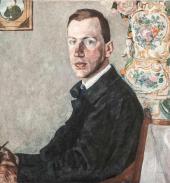 Портрет Э.Ф. Голлербаха. 1923