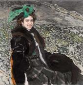 Портрет балерины Е.А. Смирновой. 1910