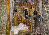 Спальня Дездемоны. Эскиз декорации к трагедии У. Шекспира «Отелло» (1930)