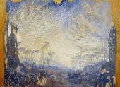 Элизиум. Эскиз декорации к опере К.-В. Глюка «Орфей и Эвридика». 1911