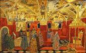 Грановитая палата Эскиз декорации к опере М.П. Мусоргского «Борис Годунов»