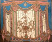 Эскиз занавеса VIII картины (бальный) к спектаклю по драме М.Ю. Лермонтова «Маск