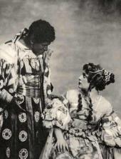 Бассейн. Эскиз декорации для постановки трагедии У. Шекспира «Отелло»