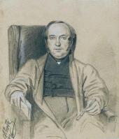 Портрет конференц-секретаря Императорской Академии художеств В.И. Григоровича
