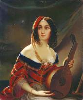 Итальянка. 1840-е