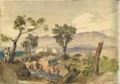М.Ю. Лермонтов. Лист из альбома М.Ю. Лермонтова. 1840–1841