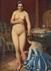 А.Г. Венецианов. Туалет Дианы. 1847