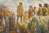 Е.Е. Лансере. Полтавская победа. 1942