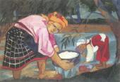 Н.С.ГОНЧАРОВА Бабы. 1910