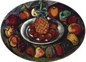 И.И.МАШКОВ. Натюрморт с ананасами. Около 1910