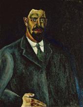 П.П.КОНЧАЛОВСКИЙ. Автопортрет. 1910