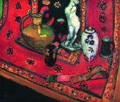 Анри МАТИСС. Статуэтка и вазы на восточном ковре. 1908