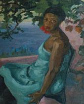 А.В.КУПРИН. Портрет негритянки. 1908–1909