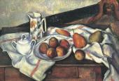 Поль СЕЗАНН. Сахарница, кувшин и тарелка с фруктами. 1888–1890