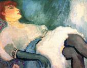 Кес Ван ДОНГЕН. Дама с черной перчаткой. 1907