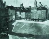 Пьер ЖИРЬЕ. Пьяцца дель Кампо. 1908