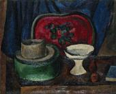 П.П.КОНЧАЛОВСКИЙ. Натюрморт с красным подносом. 1912