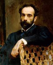 В.А.СЕРОВ Портрет И.И.Левитана. 1893