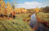 И.И.ЛЕВИТАН Золотая осень. 1895