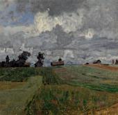 И.И.ЛЕВИТАН Бурный день. 1897