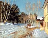 И.И.ЛЕВИТАН Март. 1895