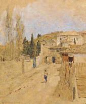 Улица в Ялте. 1886