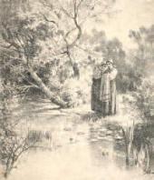 Гадание на венках Виньетка к стихотворению М.Л. (М.А.Лохвицкой ?)