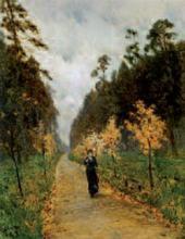 И.И.ЛЕВИТАН. Осенний день. Сокольники. 1879