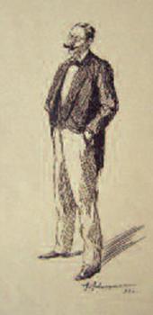 А.И.ЛЕВИТАН. Автопортрет. 1881
