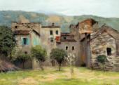 И.И.ЛЕВИТАН. Близ Бордигеры на севере Италии. 1890