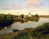 И.И.ЛЕВИТАН. Вечерний звон. 1892
