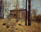 И.И.ЛЕВИТАН. Осень. Усадьба (Осень. Дача). 1894