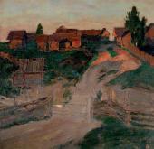 И.И.ЛЕВИТАН. Последние лучи солнца. 1899