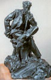 П.П.ТРУБЕЦКОЙ. Портрет И.И.Левитана. 1899