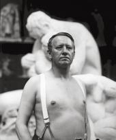 ГУСТАВ ВИГЕЛАНН В МАСТЕРСКОЙ В ХАММЕРСБОРГЕ. 28 МАЯ 1917