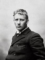 ФОТО ГУСТАВА ВИГЕЛАННА ДЛЯ ВИЗИТНОЙ КАРТОЧКИ. 1884 ИЛИ 1885.