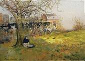 Тру-Луэт. Ранняя весна. 1895