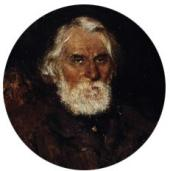 Портрет И.С. Тургенева. 1883