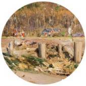 Берег Гавы. По. 1880-e. Фрагмент.
