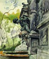 Скульптурный мотив. 1953